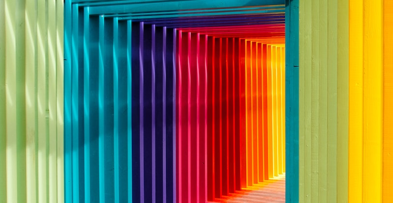 Colourful arches