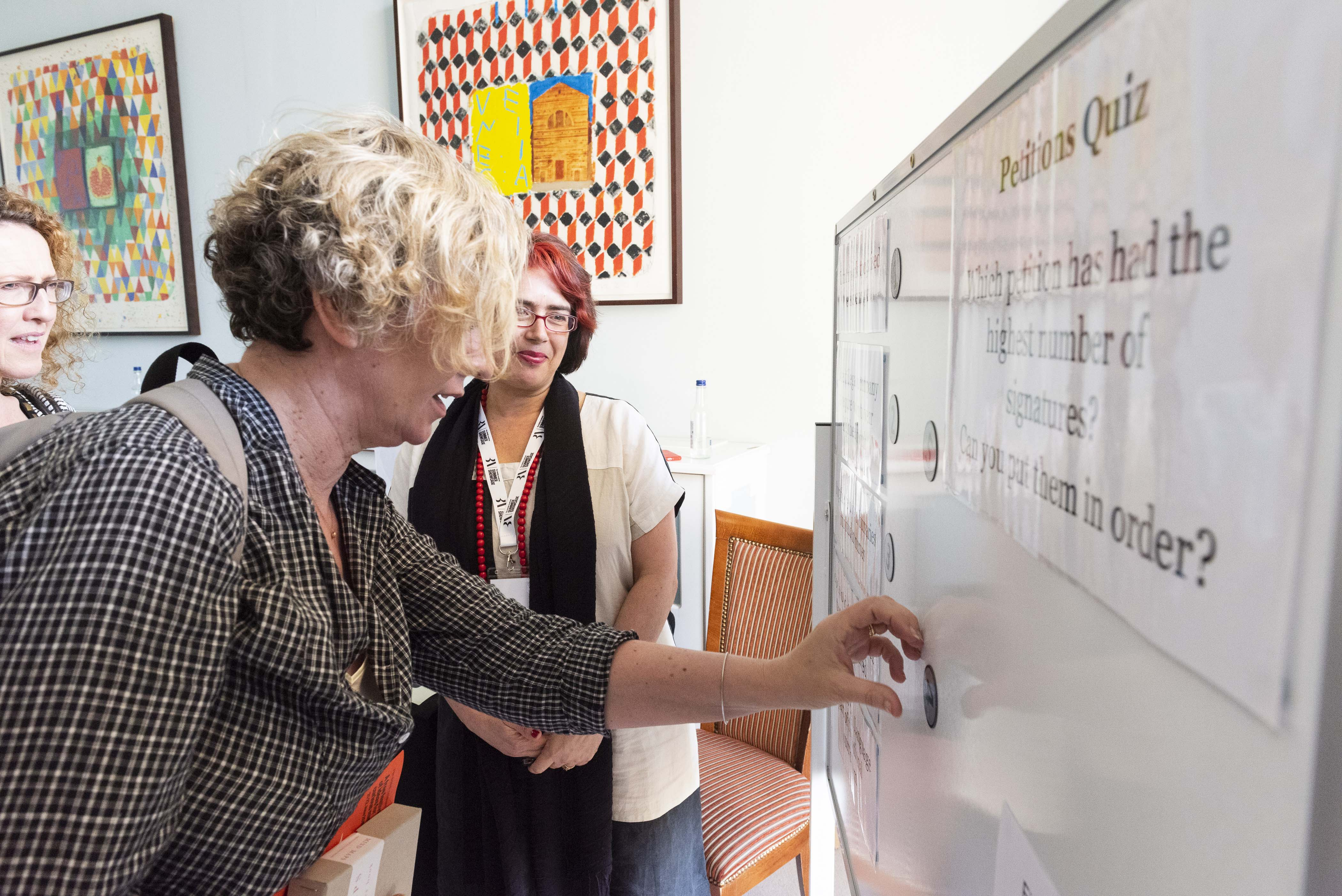 Professor Leston-Bandeira's research on public engagement showcased in major exhibition