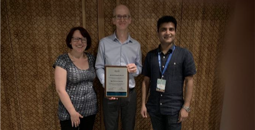 Gill Main and colleagues awarded International Society for Child Indicators Impact Award