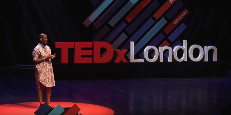TEDx talk by Professor Iyiola Solanke says discrimination needs treating like a virus
