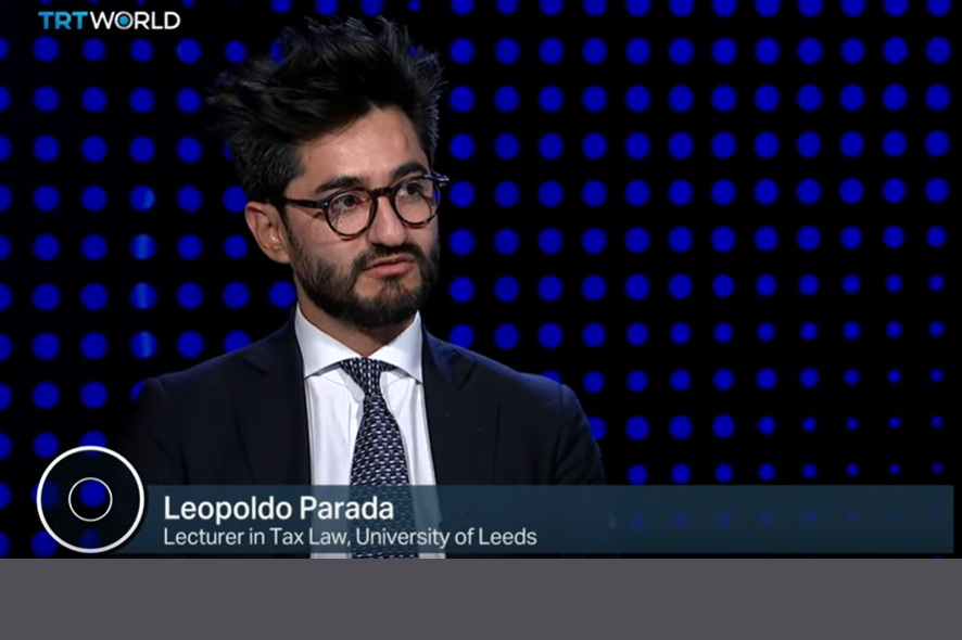 Dr Leopoldo Parada interviewed as panel guest on TRT World News London