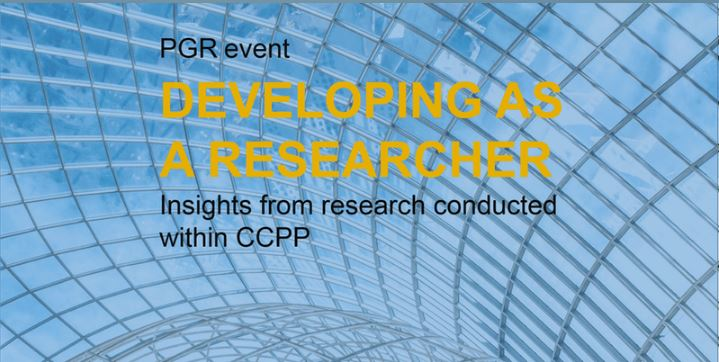 Developing as a researcher: Insights from research conducted within the Centre for Curriculum, Pedagogy and Policy