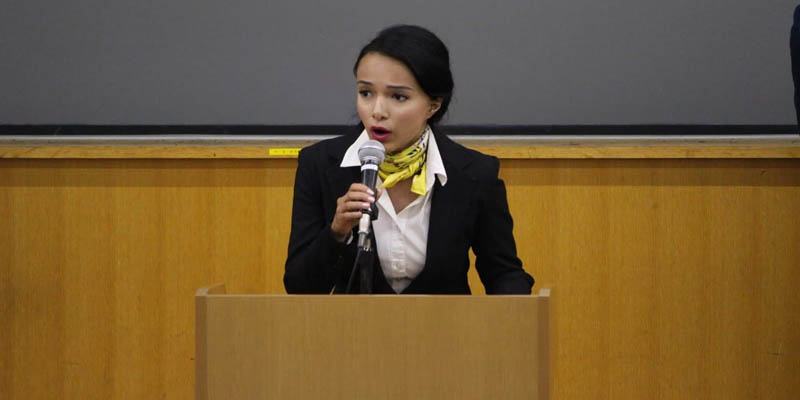 Alumna participates in the 65th International Student Conference