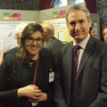 POLIS student presents at annual Posters in Parliament competition