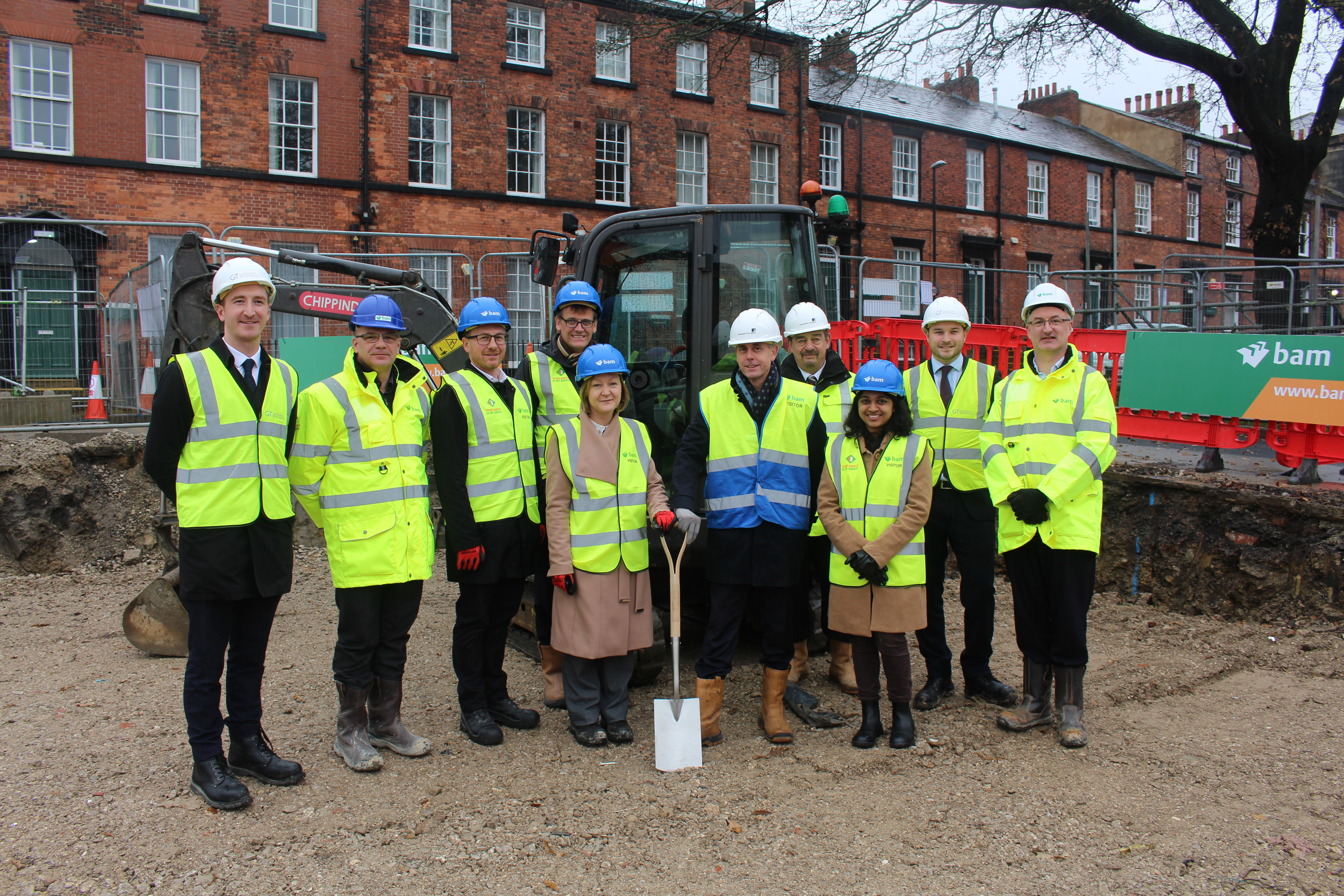 Work begins on new teaching facility