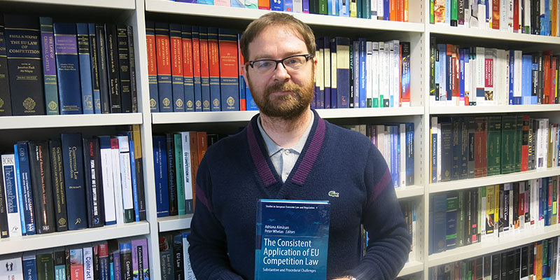 Dr Peter Whelan publishes his latest book on EU competition law