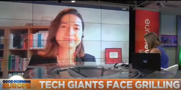 Professor Pinar Akman interviewed on Euronews about big technology companies and antitrust