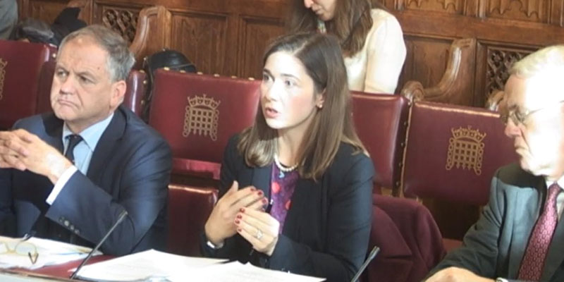 Professor Akman gives evidence at the House of Lords