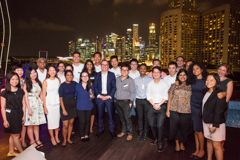School of Law Alumni Dinner: Singapore, 13 January, 2016
