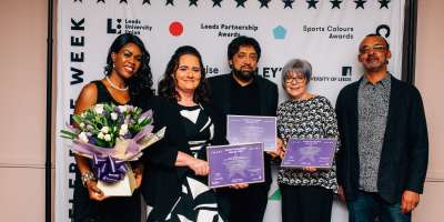 School of Sociology and Social Policy success at Leeds Partnership awards