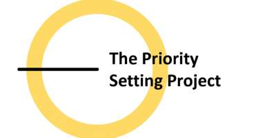 Priority setting project logo