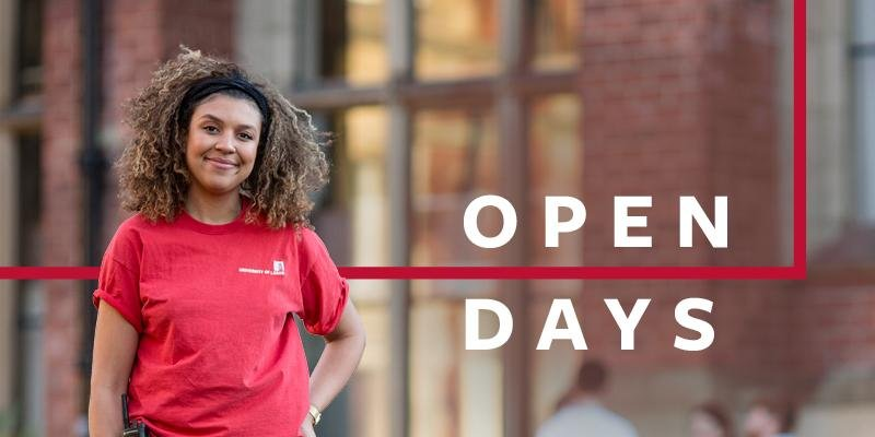 Undergraduate open days 2018