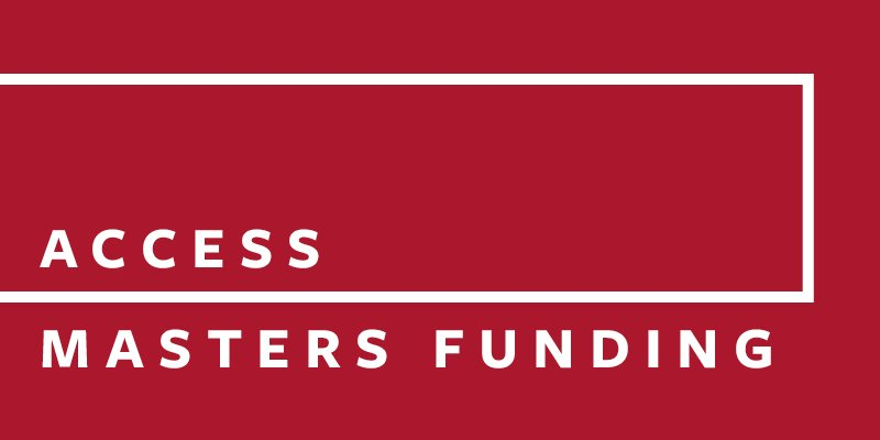 Access Masters funding at Leeds